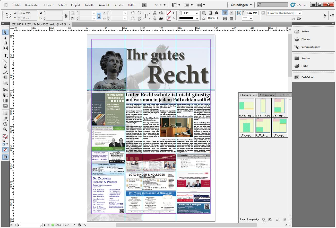 Sonderthema InDesign
