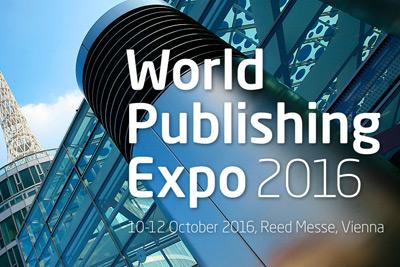 JJK auf der World Publishing Expo 2016 in Wien – Wir präsentieren Lean-Management und intelligente Online-Tools für Verlag und Vertrieb