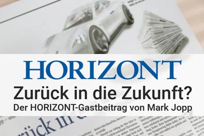 Zurück in die Zukunft? – JJK-Geschäftsführer Mark Jopp gibt im HORIZONT-Gastbeitrag einen Ausblick auf die Zukunft der Zeitung