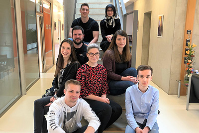 Mitarbeiter gemeinsam fördern – Auszubildenden-Austausch zwischen JJK und den Niederrhein Nachrichten war ein voller Erfolg