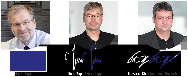 Mark Jopp, Dirk Jopp, Torsten Klupsch