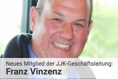 Franz Vinzenz ist neues Mitglied der JJK-Geschäftsleitung im Bereich HR & Organisation