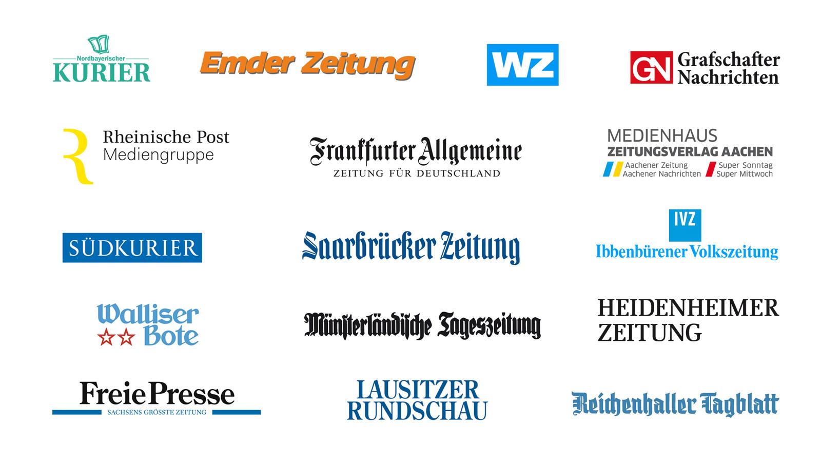 Tageszeitungen JJK Verlagssoftware