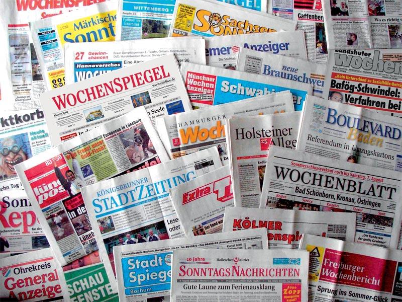 Wochenzeitungen