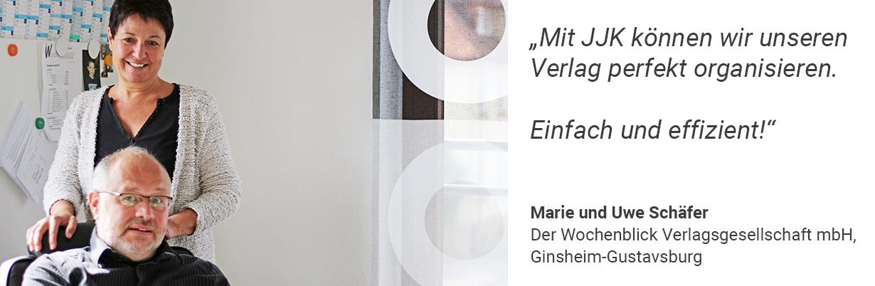 Marie und Uwe Schäfer